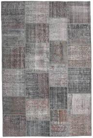 パッチワーク 絨毯 196X298 モダン 手織り 薄い灰色/濃いグレー (ウール, トルコ)