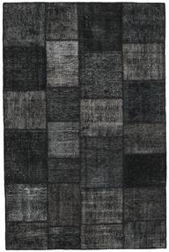 パッチワーク 絨毯 198X301 モダン 手織り 濃いグレー (ウール, トルコ)