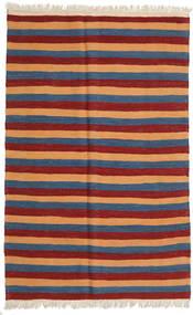 Kilim Rug 126X197 Authentic  Oriental Handwoven Dark Red/Blue (Wool, Persia/Iran)