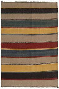 Kilim Rug 138X204 Authentic  Oriental Handwoven Light Brown/Light Grey (Wool, Persia/Iran)