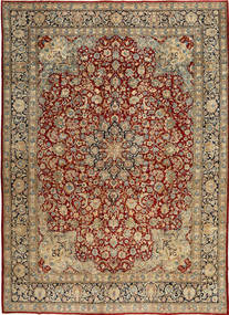 Kerman Patina Rug 287X405 Authentic  Oriental Handknotted Light Brown/Dark Red Large (Wool, Persia/Iran)