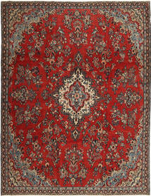 Hamadan Patina Rug 252X335 Authentic  Oriental Handknotted Dark Brown/Brown Large (Wool, Persia/Iran)