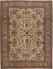 Tabriz Patina Rug 253X330 Authentic  Oriental Handknotted Light Brown/Dark Brown/Brown Large (Wool, Persia/Iran)