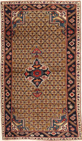 Koliai Patina Rug 100X183 Authentic Oriental Handknotted Dark Red/Brown (Wool, Persia/Iran)