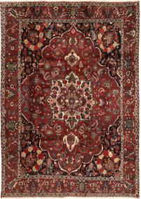 Bakhtiar Matta 207X300 Äkta Orientalisk Handknuten Mörkröd/Mörkbrun (Ull, Persien/Iran)