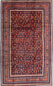 Arak Rug 200X330 Authentic  Oriental Handknotted Dark Purple/Dark Red (Wool, Persia/Iran)