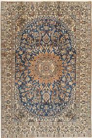 Nain##9La Rug 187X286 Authentic  Oriental Handknotted Light Brown/Dark Grey (Wool, Persia/Iran)
