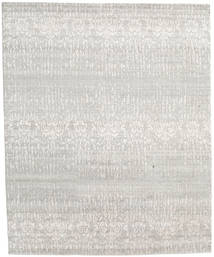 Himalaya Rug 246X301 Authentic  Modern Handknotted Light Grey/Dark Beige (Wool/Bamboo Silk, India)