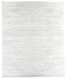 Himalaya Dywan 251X308 Nowoczesny Tkany Ręcznie Biały/Creme/Jasnoszary Duży (Wełna/Jedwab Bambusowy, Indie)