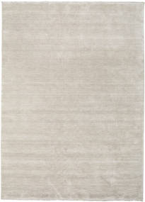 ハンドルーム fringes - グレー 絨毯 CVD16617