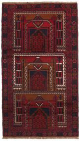 バルーチ 絨毯 109X191 オリエンタル 手織り 深紅色の (ウール, ペルシャ/イラン)