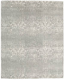 Himalaya Rug 245X304 Authentic  Modern Handknotted Light Grey (Wool/Bamboo Silk, India)