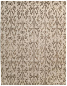Himalaya Rug 278X358 Authentic  Modern Handknotted Light Grey/Light Brown Large (Wool/Bamboo Silk, India)