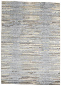 Himalaya Rug 170X241 Authentic  Modern Handknotted Light Grey/Beige (Wool/Bamboo Silk, India)