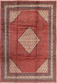 Sarough Mir Matto 210X315 Itämainen Käsinsolmittu Tummanpunainen/Ruoste (Villa, Persia/Iran)