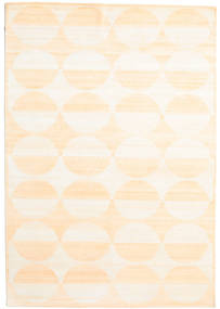 Himalaya Rug 170X244 Authentic  Modern Handknotted Beige/Light Pink (Wool/Bamboo Silk, India)