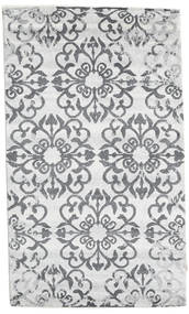 Himalaya Rug 90X153 Authentic  Modern Handknotted White/Creme/Beige/Light Grey (Wool, India)