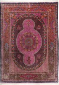 Qum silk Signed: Qum ZABIHI carpet AXVZR86