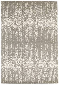 Himalaya Rug 167X245 Authentic  Modern Handknotted Light Grey/Beige (Wool/Bamboo Silk, India)