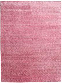 Himalaya Bamboo Silk Rug 267X354 Authentic  Modern Handknotted Light Pink/Light Purple Large ( India)