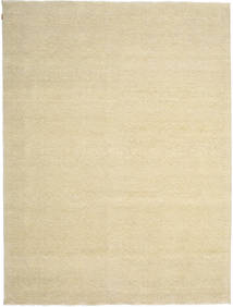 Himalaya Bamboo Silk Rug 271X362 Authentic  Modern Handknotted Yellow/Beige/Dark Beige Large ( India)