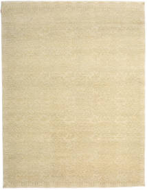 Himalaya Bamboo Silk Rug 284X370 Authentic  Modern Handknotted Yellow/Dark Beige/Beige Large ( India)