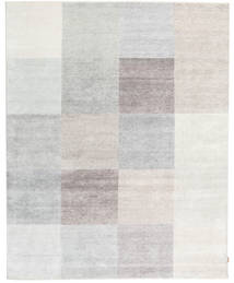 Himalaya Bamboo Silk Rug 235X301 Authentic  Modern Handknotted Light Grey/Beige ( India)