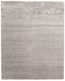 Himalaya Bambu Silke Matta 247X310 Äkta Modern Handknuten Ljusgrå/Vit/Cremefärgad ( Indien)