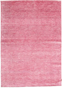 Himalaya Bamboo Silk Rug 193X274 Authentic  Modern Handknotted Light Pink ( India)