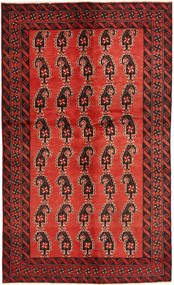 Baluch Rug 120X195 Authentic  Oriental Handknotted Dark Brown/Rust Red/Dark Red (Wool, Persia/Iran)