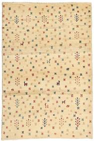 Lori Baft Persia Matto 87X133 Moderni Käsinsolmittu Beige/Tummanbeige (Villa, Persia/Iran)