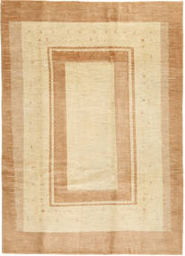 Lori Baft Persia Matto 202X284 Moderni Käsinsolmittu Vaaleanruskea/Tummanbeige/Beige (Villa, Persia/Iran)