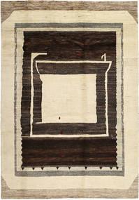 Lori Baft Persia Matto 203X292 Moderni Käsinsolmittu Beige/Vaaleanruskea/Tummanruskea (Villa, Persia/Iran)