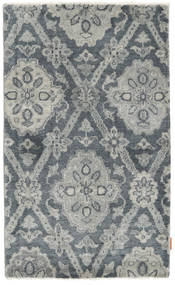 Himalaya Rug 88X146 Authentic  Modern Handknotted Light Grey/Dark Grey (Wool, India)
