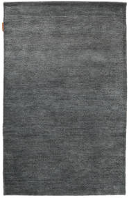 Himalaya Rug 95X149 Authentic  Modern Handknotted Dark Grey/Blue (Wool, India)