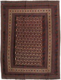 Kilim Golbarjasta Rug 203X264 Authentic  Oriental Handwoven Dark Brown/Dark Red/Light Brown (Wool, Afghanistan)