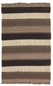 Kilim Rug 82X131 Authentic  Oriental Handwoven Light Brown/Dark Grey/Dark Brown (Wool, Persia/Iran)