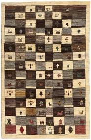 Lori Baft Persia Matto 122X189 Moderni Käsinsolmittu Tummanruskea/Vaaleanruskea (Villa, Persia/Iran)