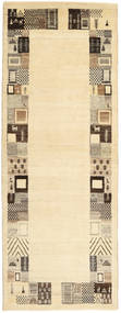 Lori Baft Persia Rug 82X217 Authentic Modern Handknotted Hallway Runner Beige/Light Brown (Wool, Persia/Iran)