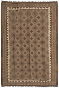 Kilim Maimane Rug 172X252 Authentic  Oriental Handwoven Brown/Light Brown (Wool, Afghanistan)