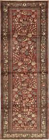 Rudbar Szőnyeg 103X315 Keleti Csomózású Sötétpiros/Sötétbarna (Gyapjú, Perzsia/Irán)