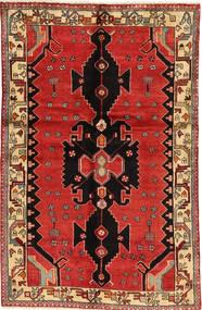 Saveh Matto 127X197 Itämainen Käsinsolmittu Tummanpunainen/Ruoste/Vaaleanruskea (Villa, Persia/Iran)