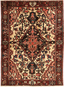 Bakhtiari Rug 165X227 Authentic Oriental Handknotted Dark Red/Dark Brown (Wool, Persia/Iran)