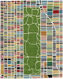 New-York / Manhattan Handtufted - Multi carpet CVD16818