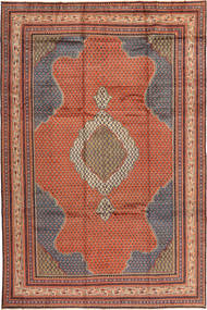 Sarouk Rug 250X372 Authentic  Oriental Handknotted Brown/Light Brown Large (Wool, Persia/Iran)