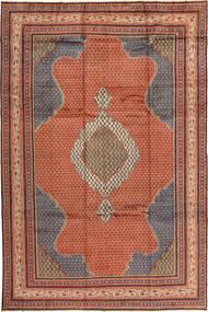 Sarough Matto 250X372 Itämainen Käsinsolmittu Ruskea/Vaaleanruskea Isot (Villa, Persia/Iran)