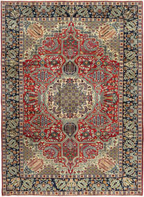 Najafabad Rug 245X337 Authentic  Oriental Handknotted Dark Grey/Brown (Wool, Persia/Iran)
