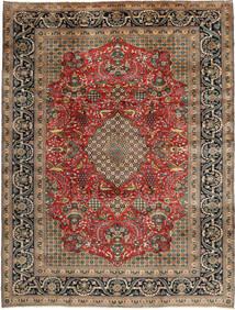 ナジャファバード 絨毯 296X388 オリエンタル 手織り 濃いグレー/薄茶色 大きな (ウール, ペルシャ/イラン)