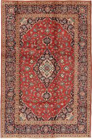Keshan Alfombra 195X295 Oriental Hecha A Mano Rojo Oscuro/Marrón Oscuro (Lana, Persia/Irán)