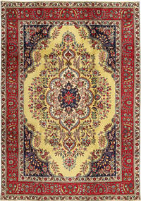 Tabriz Rug 225X325 Authentic  Oriental Handknotted (Wool, Persia/Iran)